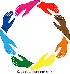 El signo de paz y amistad