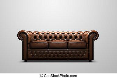 El sofá de Chesterfield