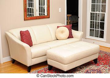 El sofá en la sala