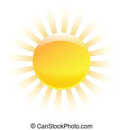 El sol brilla