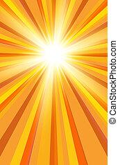 El sol del verano