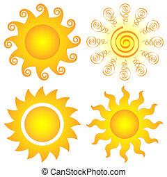 El sol se pone