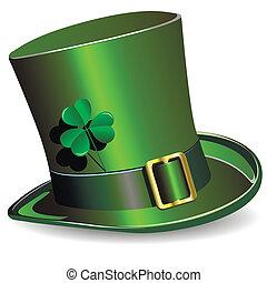 El sombrero del día de San Patrick