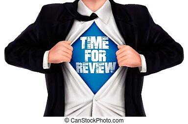 el suyo, camisa, actuación, debajo, palabras, tiempo, hombre de negocios, revisión