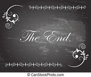 El título final
