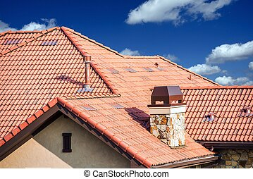 El techo de la casa