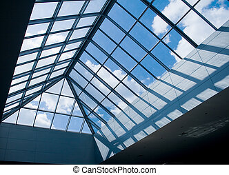 El techo de vidrio