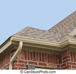 El techo y las alcantarillas