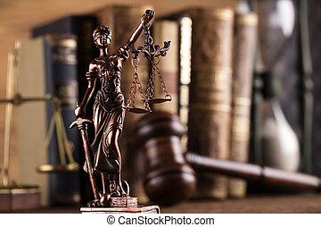 El tema de la ley y la justicia