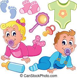 El tema de los bebés es la colección 2