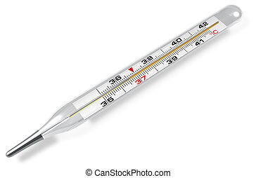 El termómetro médico