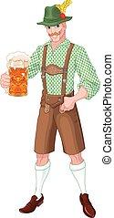 El tipo del Oktoberfest