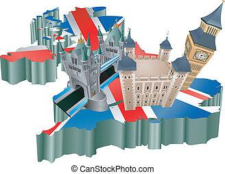 El turismo del Reino Unido