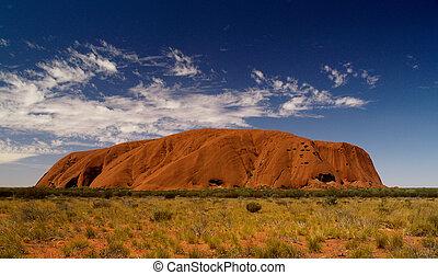 El uluru de Australia está lleno