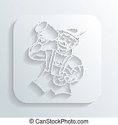 El vector de iconos de Oktoberfest