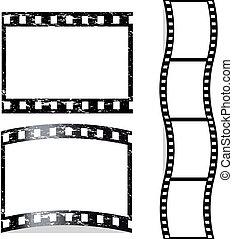 El vector rayó la película