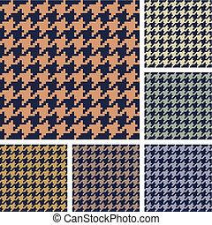 El vector tiene un patrón de sabuesos