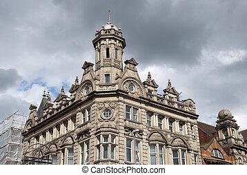 El viejo banco victoriano