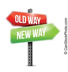 El viejo camino nuevo para ilustrar