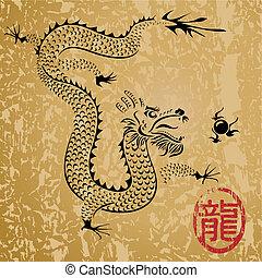El viejo dragón chino