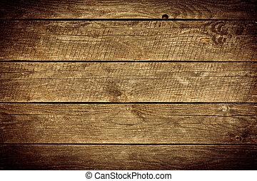 El viejo fondo de madera