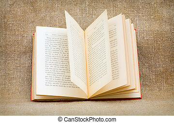 El viejo libro abierto