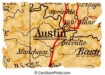 El viejo mapa de Austin
