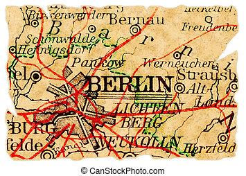 El viejo mapa de Berlín