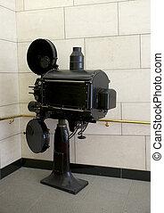 El viejo proyector de cine