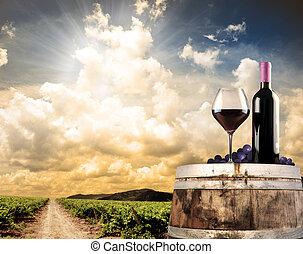 El vino sigue vivo contra el viñedo