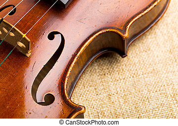 El violín se cierra