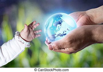 elasticidad, generación, nuevo mundo