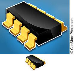 electrónica, componente