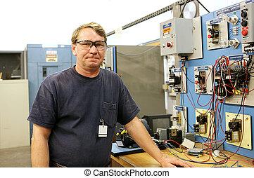 Electrónica en el panel de control