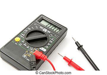 electrónico, voltímetro