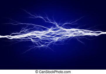 electricidad, energía, puro