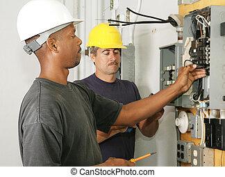 electricista, diversidad