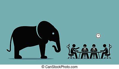 Elefante en la habitación.