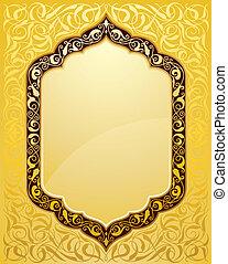 Elegante diseño islámico