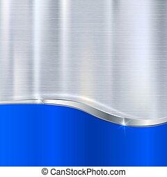 Elegante fondo metálico