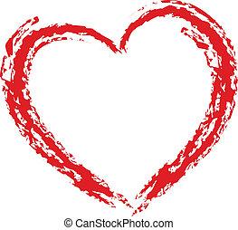 Elemento de diseño del corazón