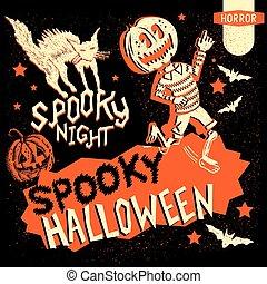 Elementos antiguos de Halloween