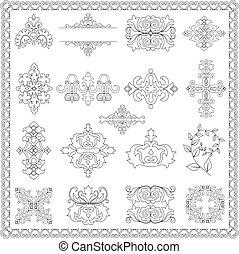 Elementos de decoración (línea)