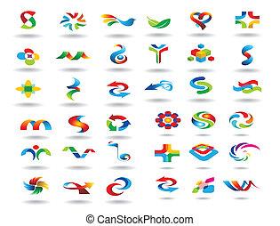 Elementos de diseño de logo