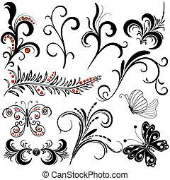 Elementos de diseño decorativos