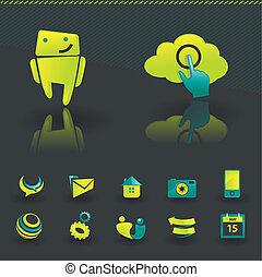 Elementos de diseño Icon
