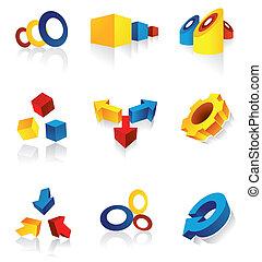 Elementos de diseño modernos
