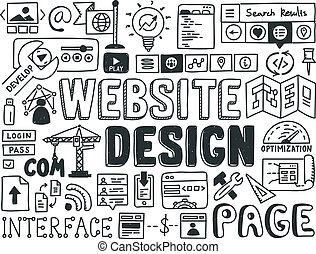 Elementos de diseño Website