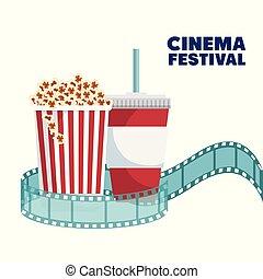 Elementos de entretenimiento del cine