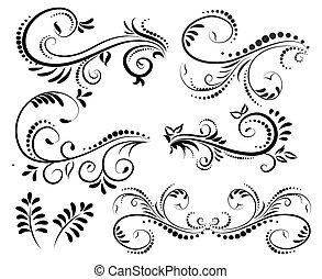 Elementos de espiral para el diseño